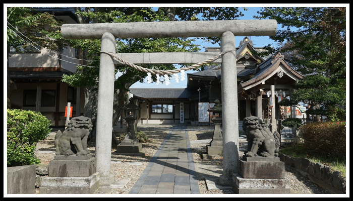 三皇熊野神社本宮跡